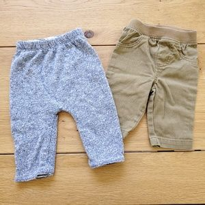 Baby Gap & Garanimals Boys' Pants Lot